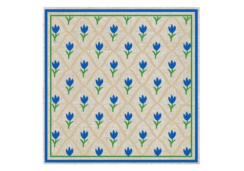 French Classics Tulip Blue Package 20 Napkins