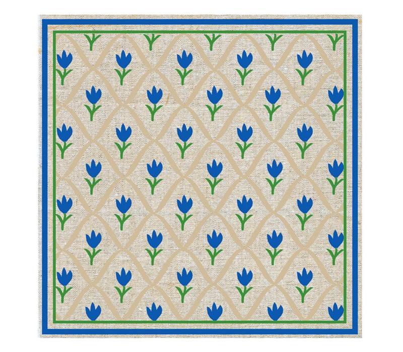 Tulip Blue Package 20 Napkins