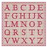 French Classics ABC Red Package 20 Napkins