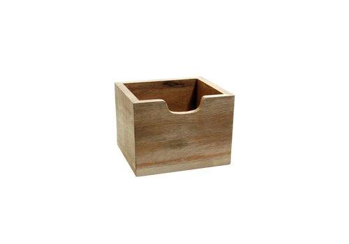 Kom Amsterdam Cutlery Box Wood High