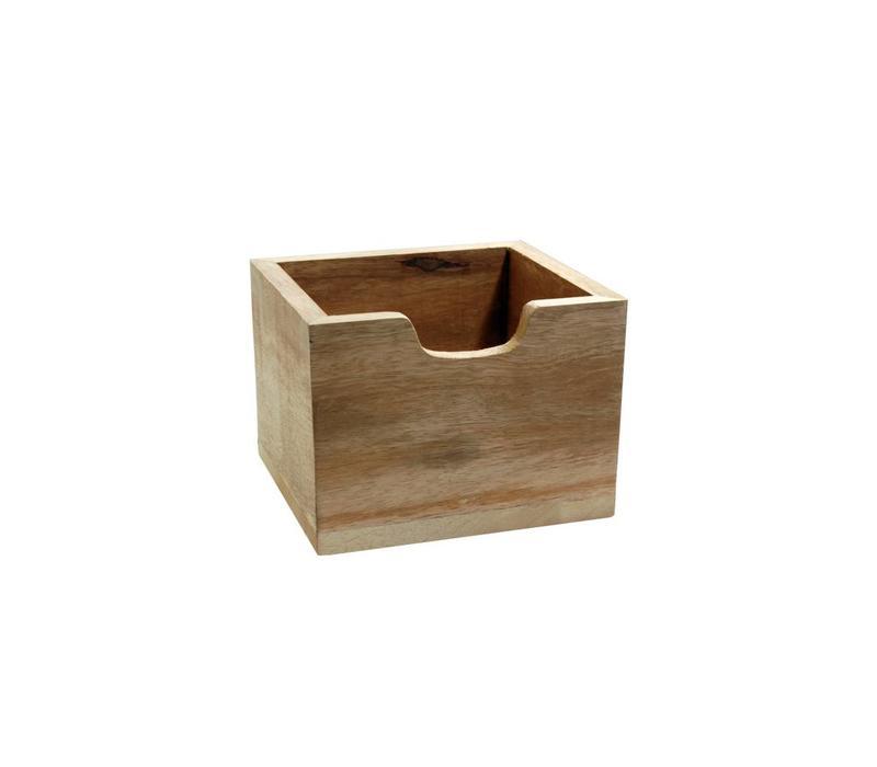 Besteckbehälter Hoch Holz
