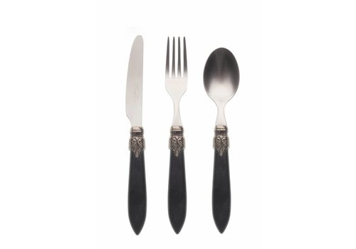 Murano Breakfast Cutlery Set (3-piece) Murano Matt Black