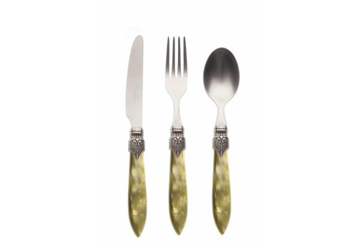 Murano Breakfast Cutlery Set (3-piece) Murano, Olive