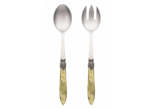 Murano Salad Server Set (2-piece) Murano, Olive