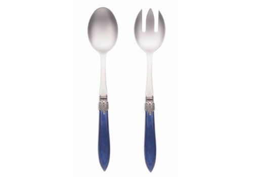 Murano Salad Server Set (2-piece) Murano, Blue