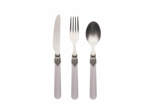 Vintage Breakfast Cutlery Set (3-piece) Vintage Smoke