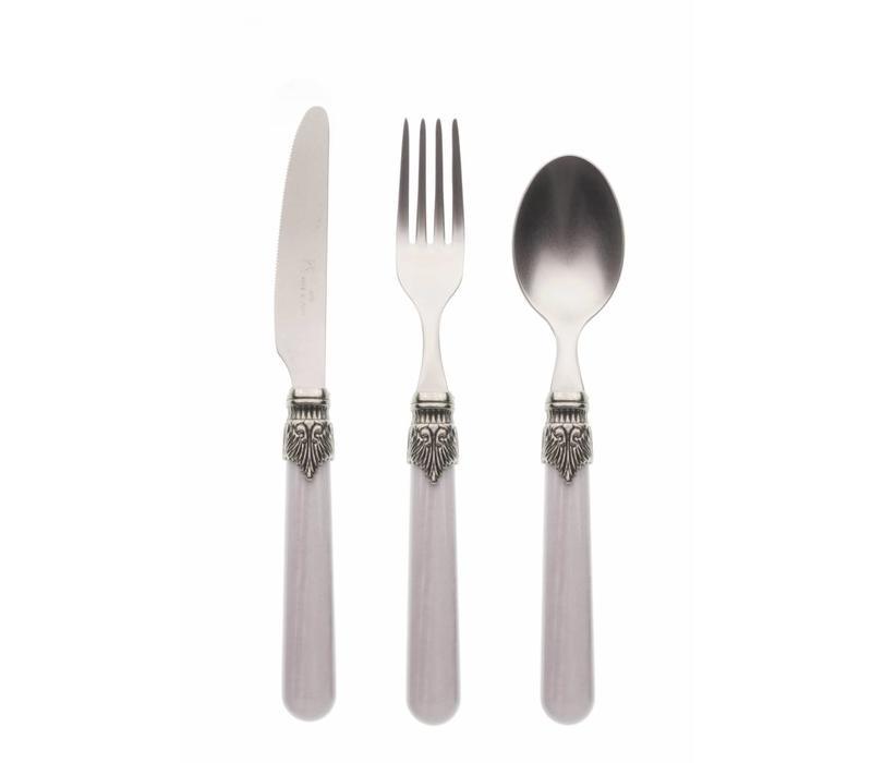Breakfast Cutlery Set (3-piece) Vintage Smoke