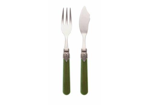 Vintage Fish Cutlery (2-pieces) Vintage Moss