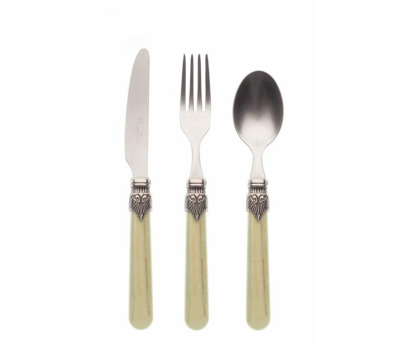 Breakfast Cutlery Set (3-piece) Vintage Pistache