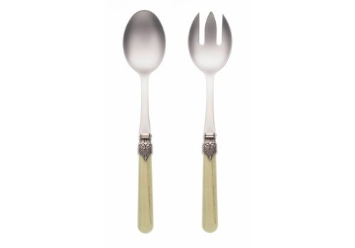 Vintage Salad Server Set (2-piece) Vintage Pistache