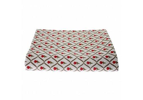 Kom Amsterdam Tischdecke 150x250 cm Tulip Rot