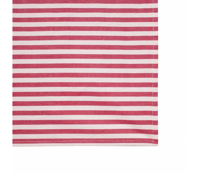 Campagne Table Cloth 155x250 cm Breton, Red