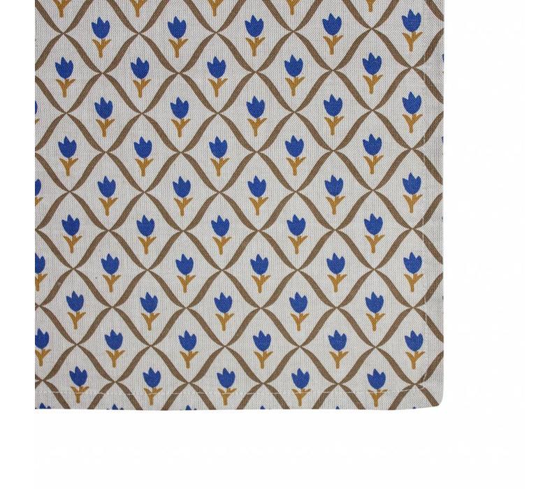 Tafelkleed 150x250 cm Tulip, Blauw