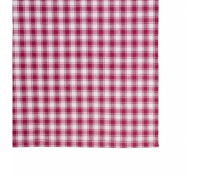 Tafelkleed Grote Ruit 150x250 cm Feston, Rood