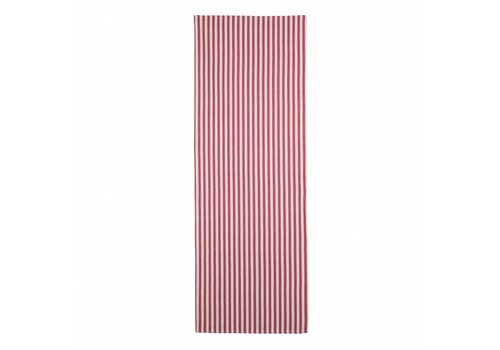 "Kom Amsterdam Kom Amstedam Table Runner ""Breton"" 45x150 cm, Red"