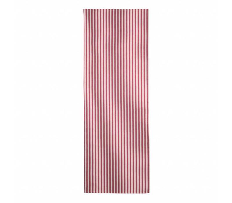 """Kom Amstedam Table Runner """"Breton"""" 45x150 cm, Red"""