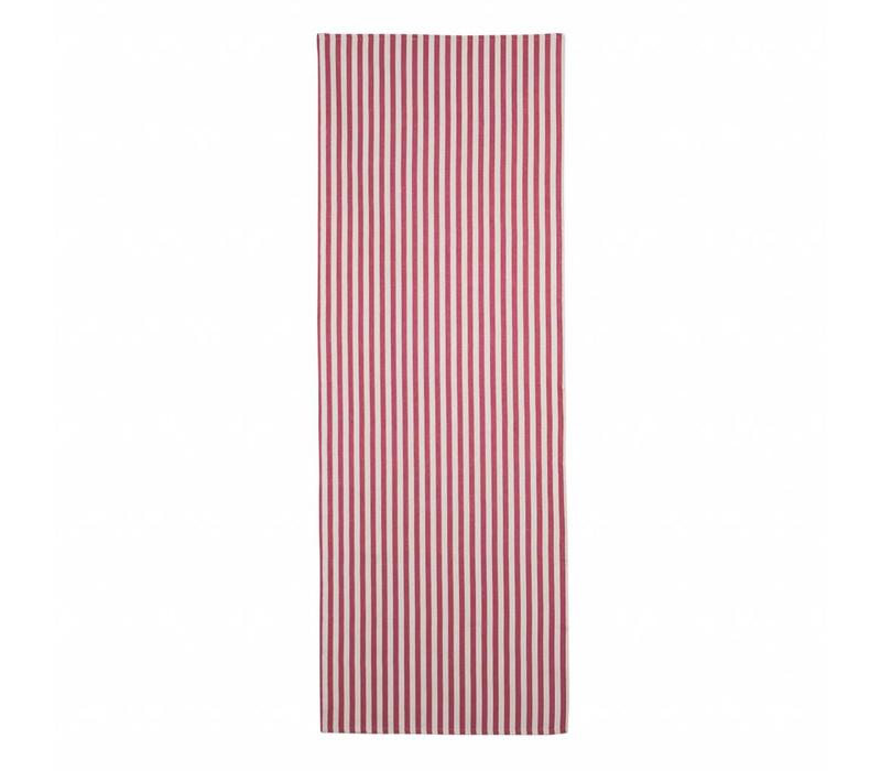 Tafelloper 50x150 cm Breton, Rood