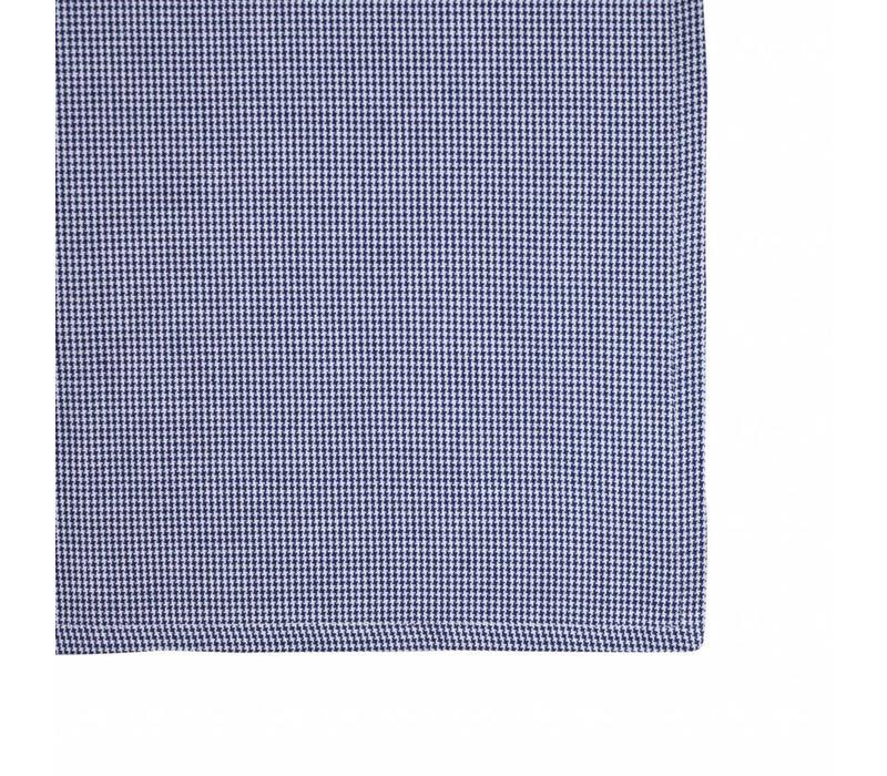 "Kom Amsterdam Table Runner ""Grid"" 45x150 cm, Blue"