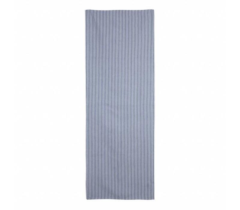 Tischläufer 45x150 cm Streife Blau