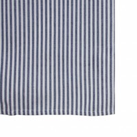 """Kom Amsterdam Table Runner """"Stripe"""" 45x150 cm, Blue"""