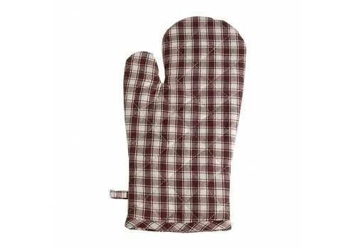 Kom Amsterdam Oven Glove, Thermal Lining Feston, Grey