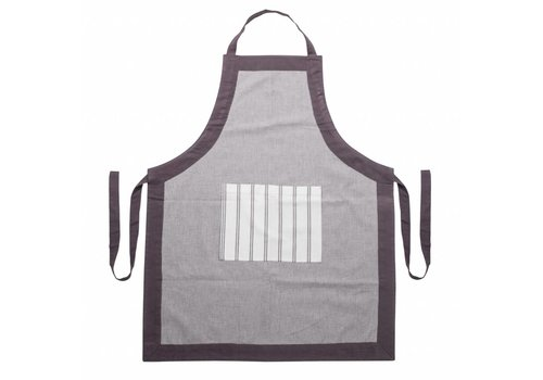 Kom Amsterdam Apron, Adjustable Length Feston, Grey