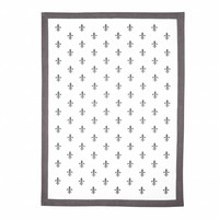 Campagne Set 2 Dish Towels 50x70 cm Grid, Sand