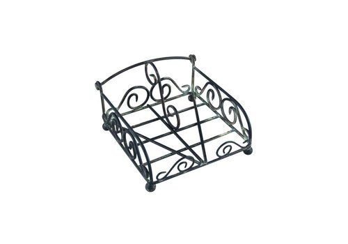 French Kitchen Collection French Kitchen Collection Napkin Holder Cocktail Iron Antic Finish