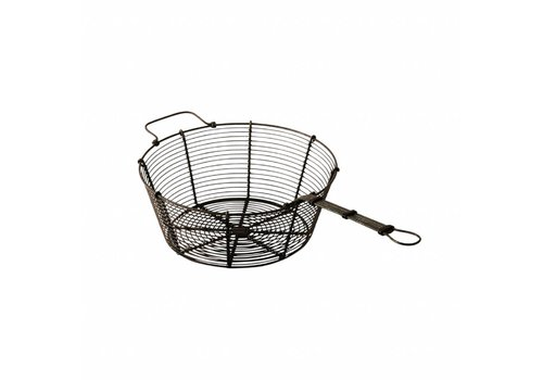 Kom Amsterdam French Kitchen Collection Strainer ø20x41xH9 cm Black
