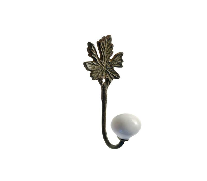 French Kitchen Collection Kleine Haak Porseleinen Knop IJzer