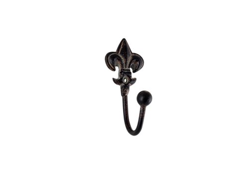 French Kitchen Collection French Kitchen Collection Mini Hook H10cm Iron Antic