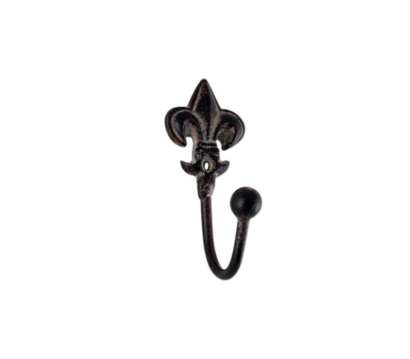 French Kitchen Collection Mini Hook H10cm Iron Antic