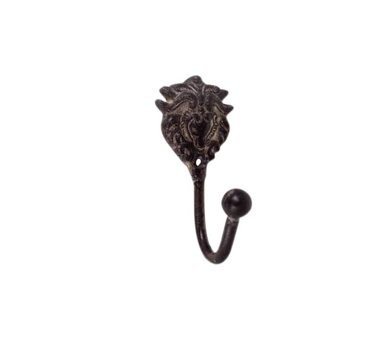 French Kitchen Collection Mini Hook H10cm Iron Antic Finish