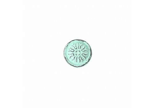 "French Kitchen Collection VK3M French Kitchen Collection ""Vintage"" Knob, Mint Green"
