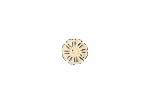 "French Kitchen Collection VK1C French Kitchen Collection ""Vintage"" Knob, Ivory Yellow"