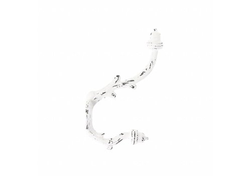 French Kitchen Collection Vintage Hook, White
