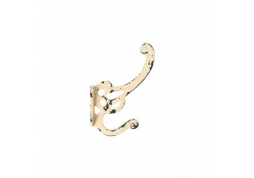 "French Kitchen Collection French Kitchen Collection ""Vintage"" Hook, Ivory Yellow"