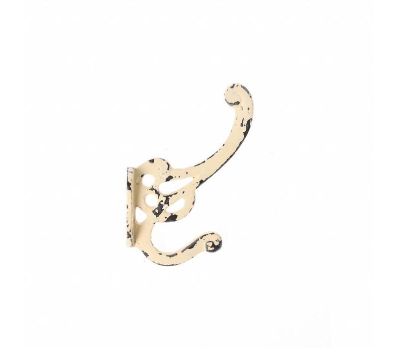 "French Kitchen Collection ""Vintage"" Hook, Ivory Yellow"