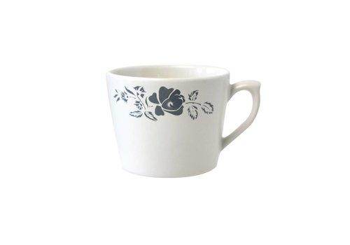 Dépôt d'Argonne Dépôt d'Argonne Cappuccino Cup With Ear Rose, Gray