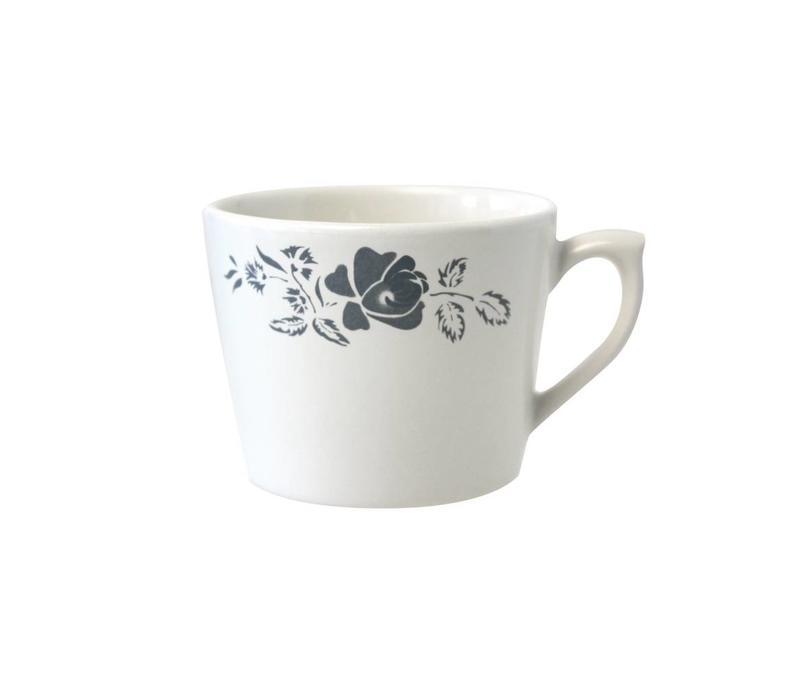 Dépôt d'Argonne Cappuccino-Tasse Rose Grau