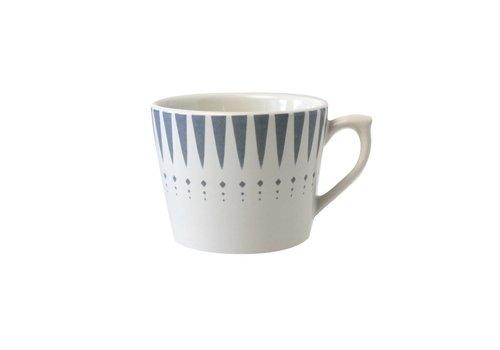 Dépôt d'Argonne Dépôt d'Argonne Cappuccino Cup Arlequin, Grey