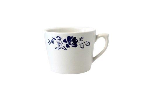 Dépôt d'Argonne Dépôt d'Argonne Cappuccino Cup Rose Blue