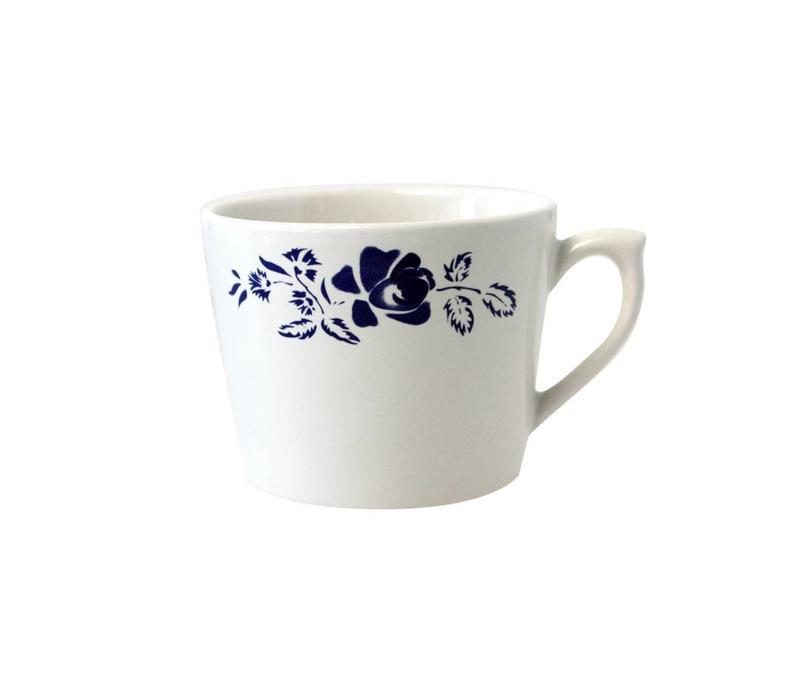 Dépôt d'Argonne Cappuccino Tasse Rose Blau