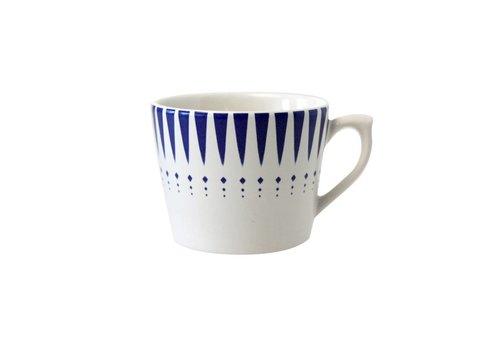Dépôt d'Argonne Dépôt d'Argonne Cappuccino Cup Arlequin, Blue