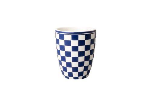 Dépôt d'Argonne Dépôt d'Argonne Mug Damier, Blue