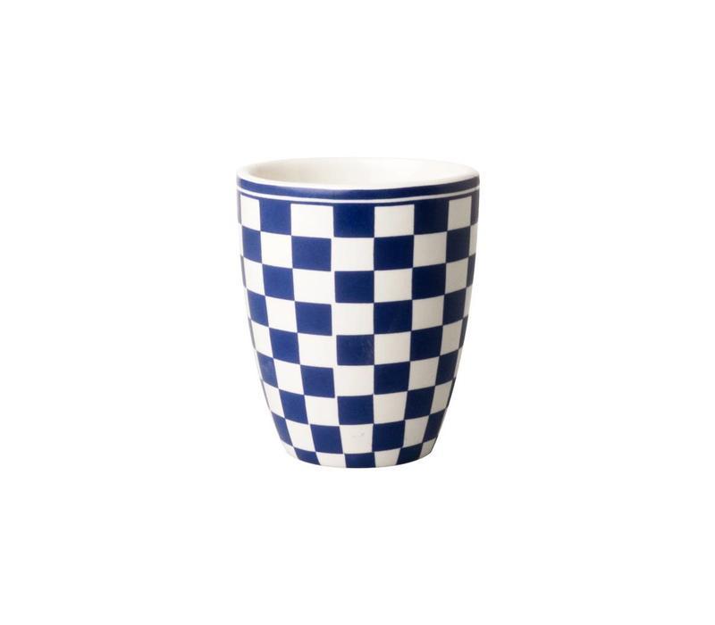 Dépôt d'Argonne Mug Damier, Blue