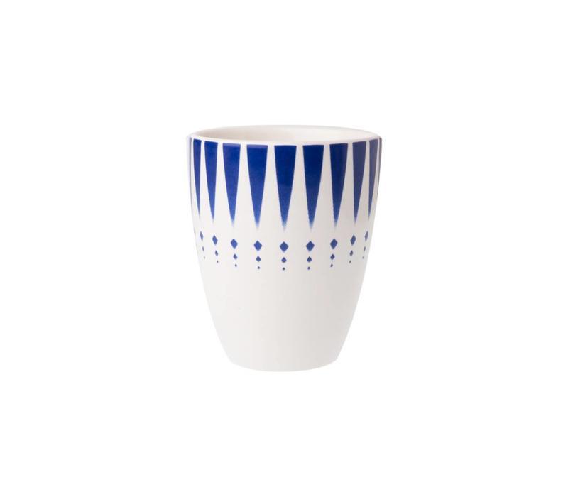 Dépôt d'Argonne Mug Arlequin, Blue