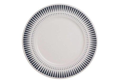 Dépôt d'Argonne Dépôt d'Argonne Dinner Plate Arlequin, Blue