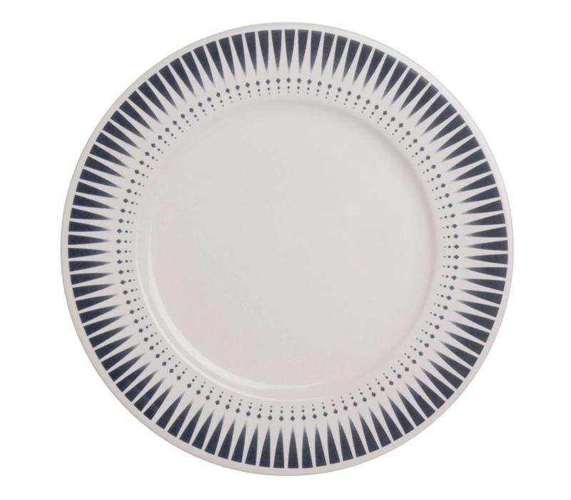 Dépôt d'Argonne Dinner Plate Arlequin, Blue
