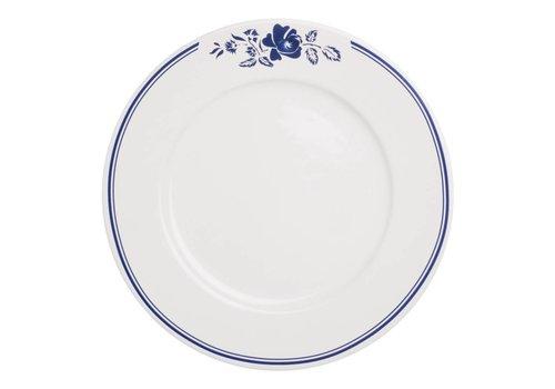 Dépôt d'Argonne Dépôt d'Argonne Dinner Plate 27cm Rose, Blue